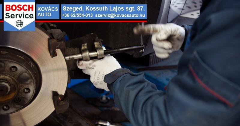 Fékszerviz Szeged - Fékszerelés, fékállítás, fékalkatrészek cseréje és fékállítás