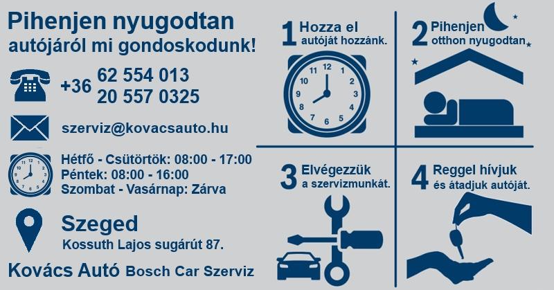 Autószerviz Szeged időpont gyors szerviz