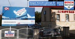 Autószerviz Szeged Kovács Autó Bosch Car Szerviz