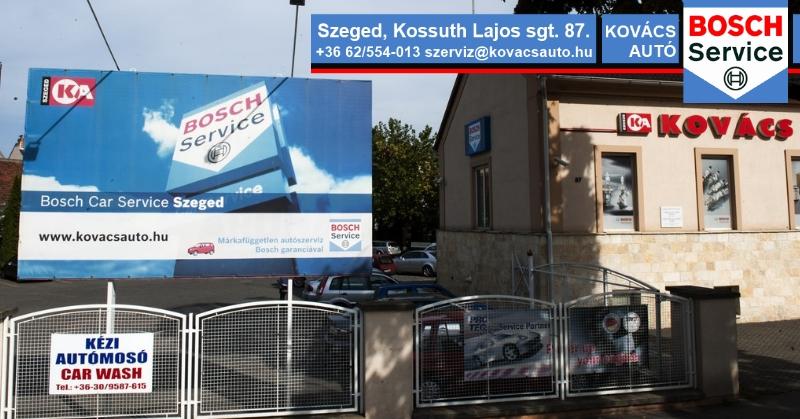 Kovács Autó Bosch Car Service Szeged