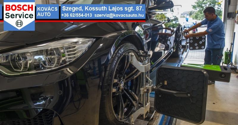 Futómű beállítás és javítás Szegeden, kedvező árakon!
