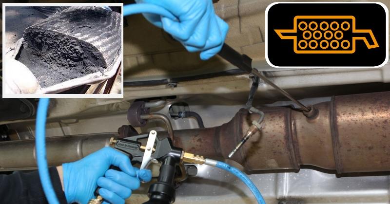 DPF szűrő tisztítás csere szerviz