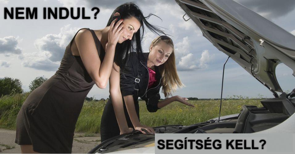 Nem indúl, segítség kell? Autó assistance biztosítás!