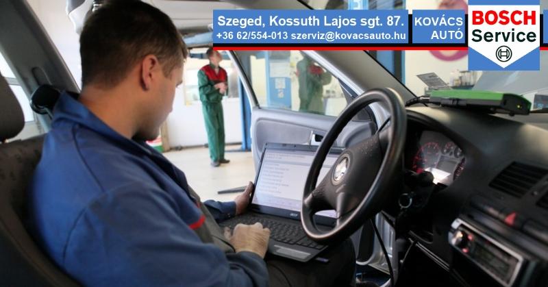 Autódiagnosztika Szeged: Motordigadnoszika, hibakód kiolvasás és tőrlés
