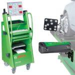 Bosch FWA 4630 autószerelő műhelyben